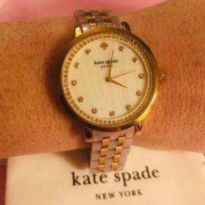 Kate Spade VGUC Monterey Rose Gold KSW1264 Watch